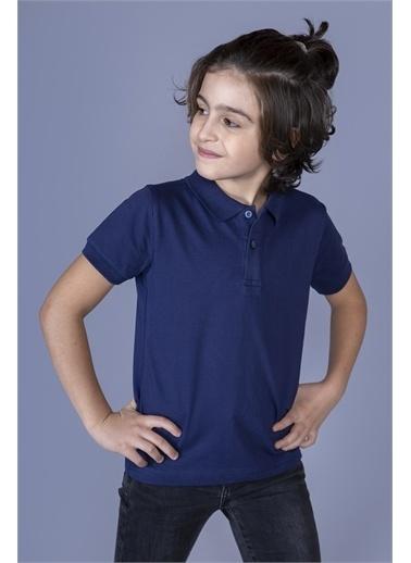Toontoy Kids Toontoy Erkek Çocuk Polo Yaka Tişört Lacivert